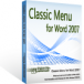 Classic Menu for Word download